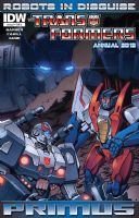 Transformers: Robots in Disguise - Annual 2012
